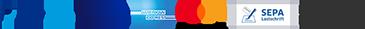 PAYPAL Plus Mastercard SEPA Lastschrift Zahlung auf Rechnung
